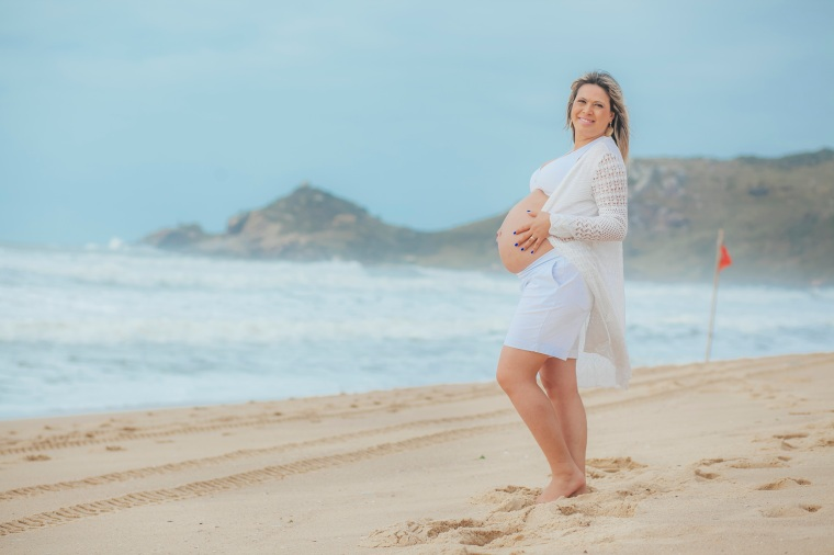 Ensaio gestante - Elizangela Capelani - Pregnant - Francis Photographer - Praia Mole - Florianópolis (1)