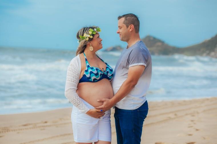 Ensaio gestante - Elizangela Capelani - Pregnant - Francis Photographer - Praia Mole - Florianópolis (11)