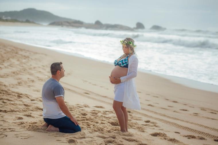 Ensaio gestante - Elizangela Capelani - Pregnant - Francis Photographer - Praia Mole - Florianópolis (16)
