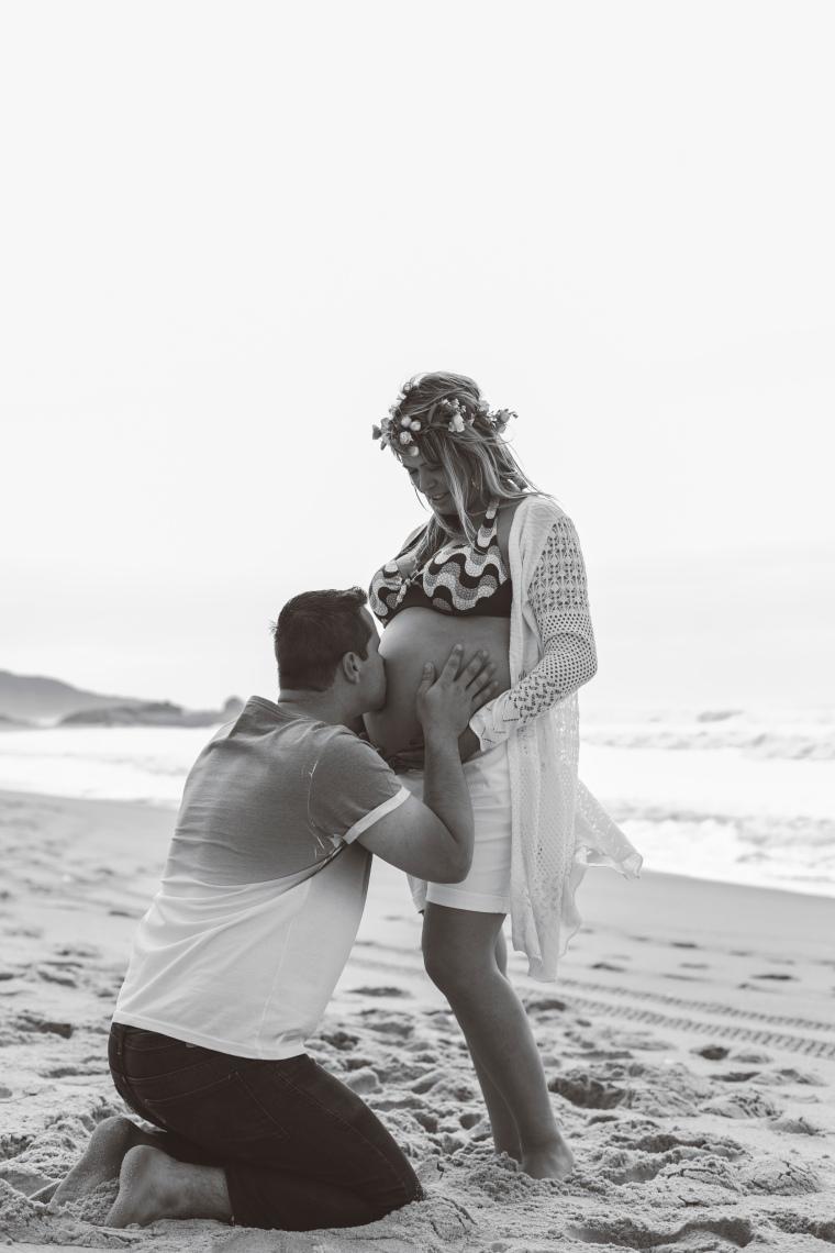 Ensaio gestante - Elizangela Capelani - Pregnant - Francis Photographer - Praia Mole - Florianópolis (17)