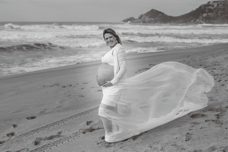 Ensaio gestante - Elizangela Capelani - Pregnant - Francis Photographer - Praia Mole - Florianópolis (28)