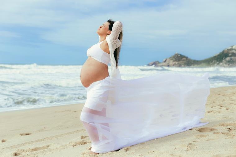 Ensaio gestante - Elizangela Capelani - Pregnant - Francis Photographer - Praia Mole - Florianópolis (29)