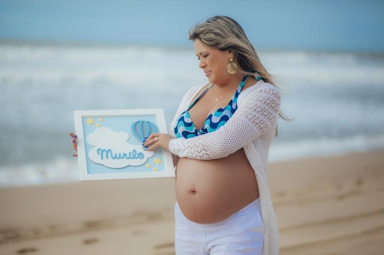 Ensaio gestante - Elizangela Capelani - Pregnant - Francis Photographer - Praia Mole - Florianópolis (9)